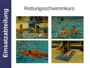 Rettungsschwimmkurs