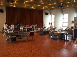 Das DRK Ärzte-Team ist bereit zur Blutabnahme