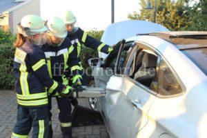 Aufspreitzen der Fahrzeugtüren