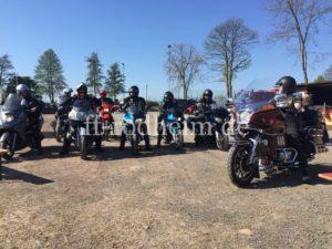 Motorradkolone