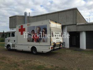 DRK-Blutspende LKW