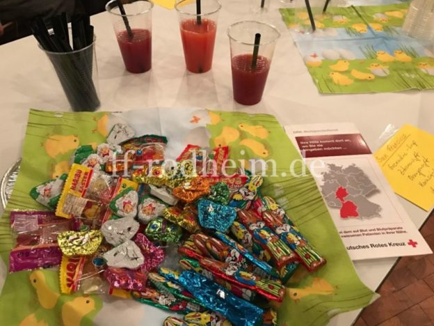 Süßigkeiten und Cocktails